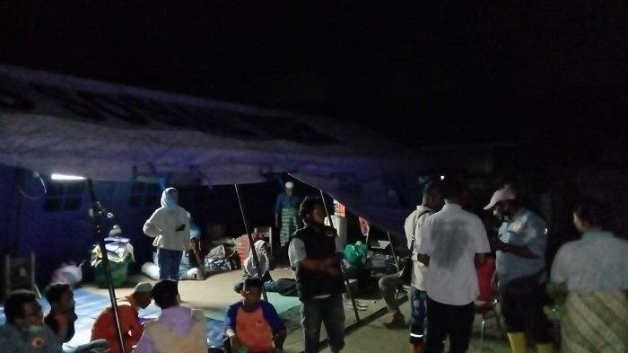 BPBD Lhokseumawe Dirikan Tenda Darurat untuk Korban Banjir di Panggoi Lhokseumawe