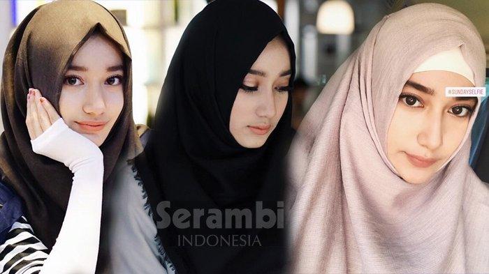 Cantiknya Artis Muda Tengku Syaira Anataya, Gadis Berhijab Perpaduan Aceh dan Arab