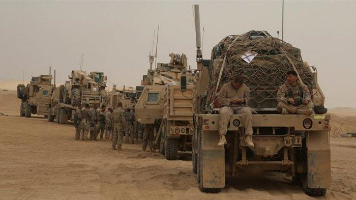 Donald Trump Perintahkan Pentagon Balas Serangan Iran di Pangkalan Irak