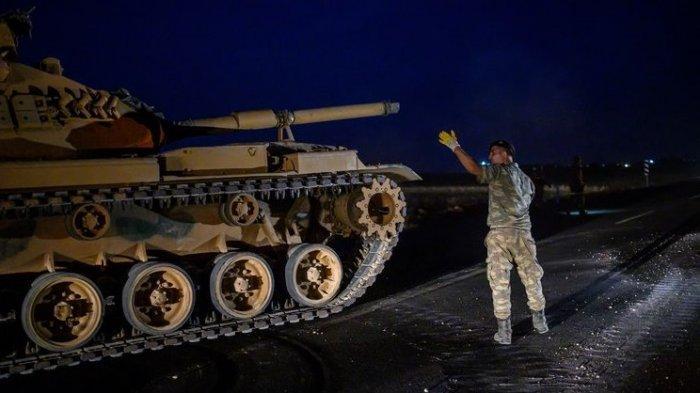 Konvoi Militer Turki Dalam Jumlah Besar Menuju ke Perbatasan Suriah, Siap Menyerang, Trump Tertekan