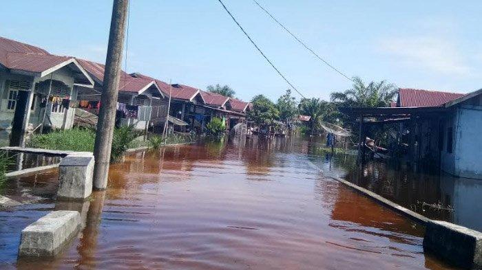 Terima Air Kiriman dari Subulussalam dan Aceh Tenggara, Aceh Singkil Kembali Direndam Banjir