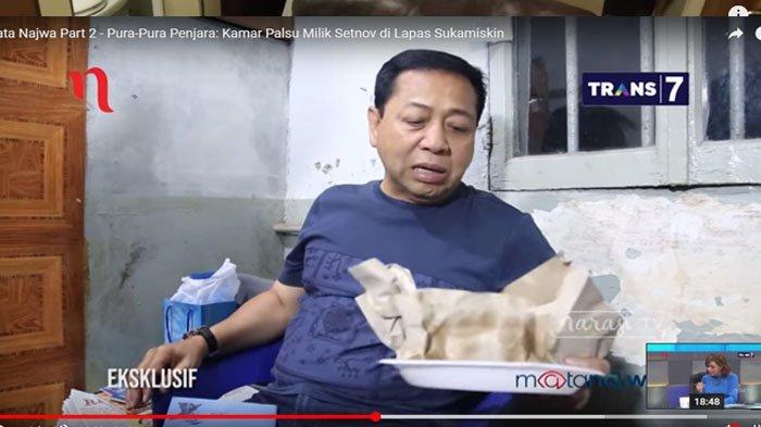 Setya Novanto Terpergok di Rumah Makan Padang, Ditjen Pemasyarakatan Janji Tindak Tegas