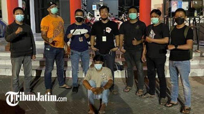 Pembunuh Juragan Toko Pakaian di Surabaya Ditangkap, Pelaku Dendam Ditegur Tak Sopan Oleh Korban