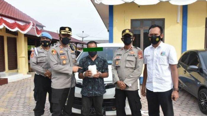 Polres Aceh Timur Tangkap Pria Bawa 1 Kg Sabu, Mobilnya Dicegat di Idi, Tersangka Warga Pante Merbo