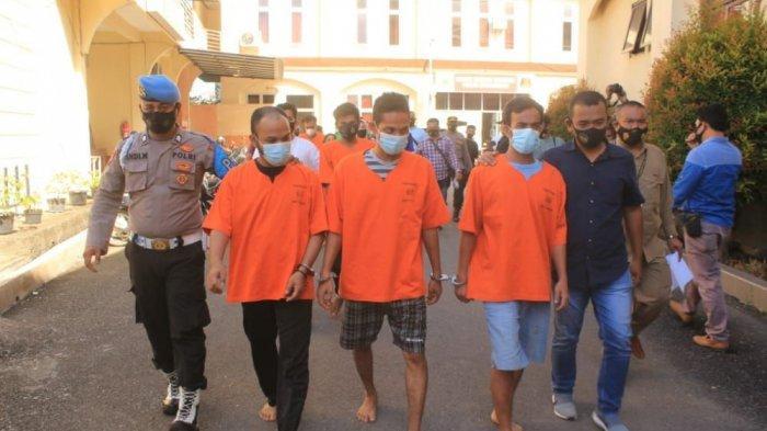 Polisi Tangkap Warga Lhoksukon, Sikat 65 Mayam Emas