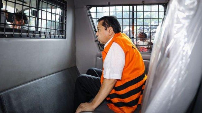 Nasib Setya Novanto Ditahan di Sel Teroris, Tak Boleh Dijenguk Sebulan hingga Diawasi 350 CCTV