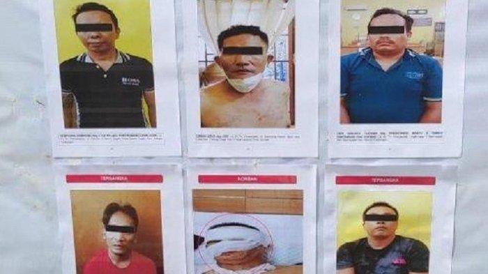 5 Tersangka Penyiram Air Keras Terhadap Wartawan di Medan Ditangkap, Ini Identitas dan Peran Mereka