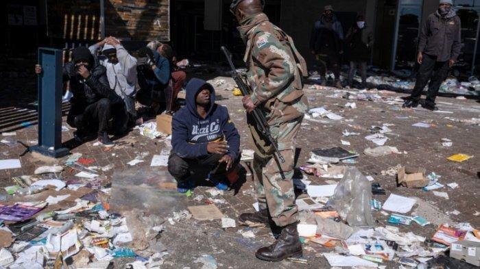Kerusuhan di Afrika Selatan Tewaskan 72 Orang, Massa Protes Mantan Presiden Jacob Zuma Dipenjara