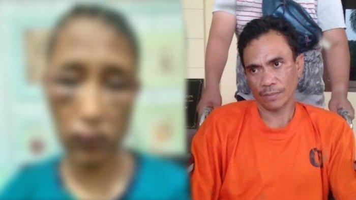 Suami yang Siksa Istri Ditangkap, Sahrudin Bantah Masukkan Cobek ke Alat Vital Korban