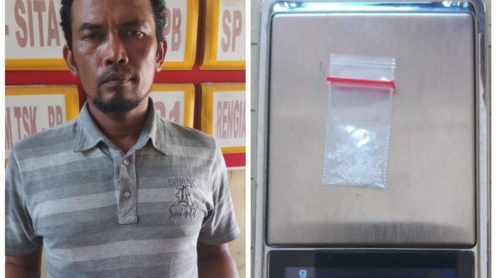 Polisi Nyamar Jadi Pembeli, Pengedar Sabu Blang Paseh Ditangkap