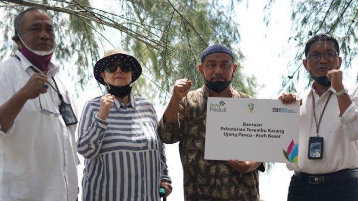 PLN Bantu Pelestarian Terumbu Karang Ujong Pancu