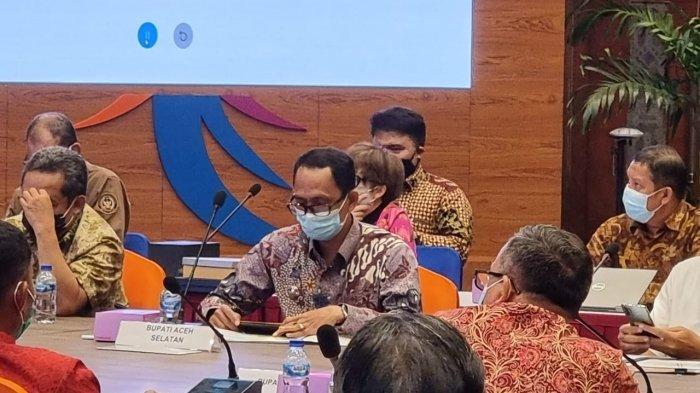 Tgk Amran Paparkan Potensi Wisata dan Ekonomi Kreatif Aceh Selatan