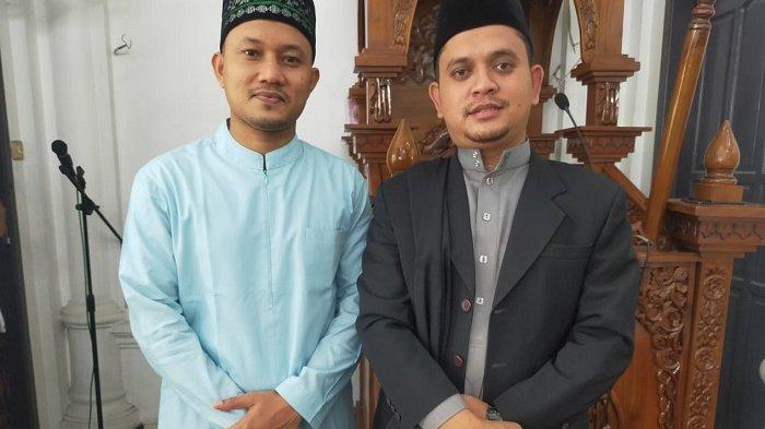 Alumni Dayah Babussalam Blang Bladeh Bireuen Pimpin Shalat Idul Fitri di Masjid Aceh Darussalam