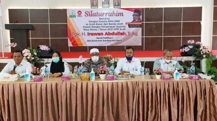 Masalah Pendidikan Jadi Tanggungjawab Semua, Begini Harapan Ketua Komisi VI DPRA, Irawan Abdullah