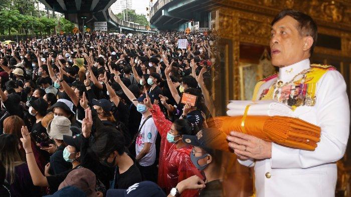 Thailand Diguncang Demo Besar-besaran, Jerman Peringatkan Raja Maha Vajiralongkorn Soal Ini