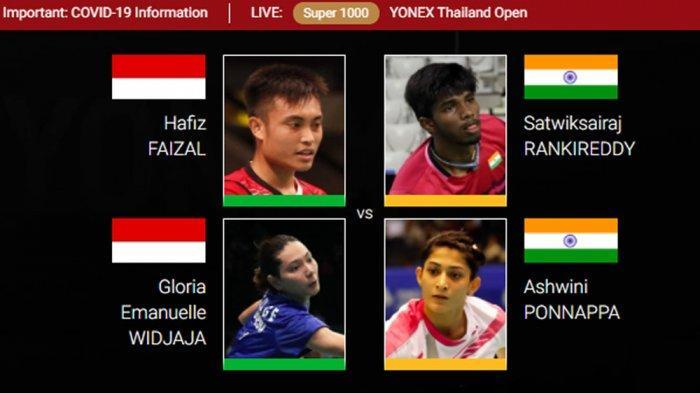 Hasil Thailand Open 2021 - Lewati Drama 8 Kali Duece ...