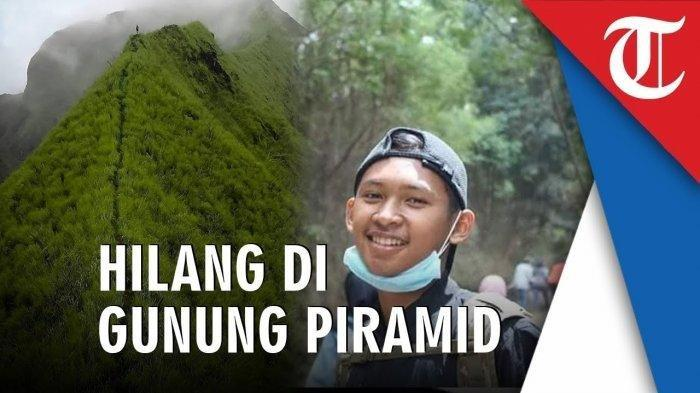 12 Hari Hilang, Pendaki Gunung Piramid Thoriq Ditemukan Tak Bernyawa, Netizen Ucapkan Belasungkawa