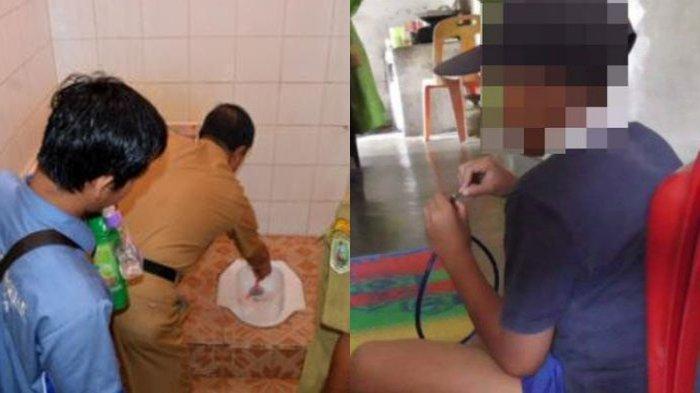 Tidak Bawa Tugas Sekolah, Murid SD Dihukum Jilat WC 12 Kali Sampai Muntah