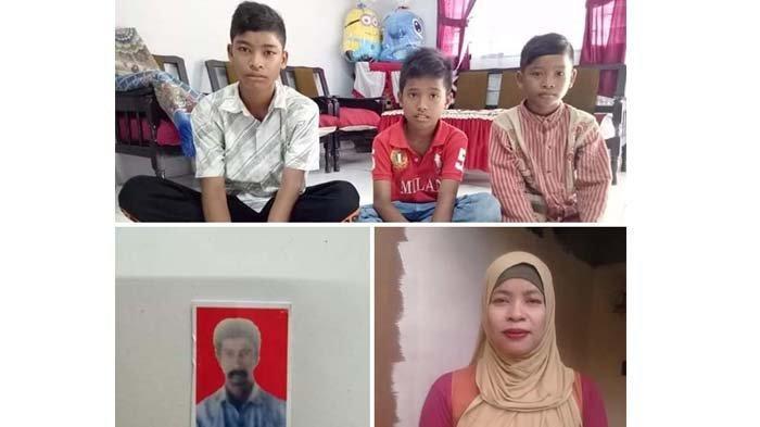 Ketiga Anak Yatim Piatu Ini Menemukan Saudara Ayah Mereka di Bireuen