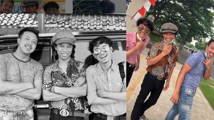 Lagi Viral 3 Pria Mirip Dono,Kasino, Indro, Netizen Ramai-Ramai Minta Dibuatkan Film