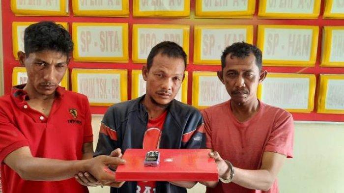 3 Pria Ditangkap Warga Alue Beurawe Langsa Ternyata Penarik Becak Motor, Patungan Beli Sabu