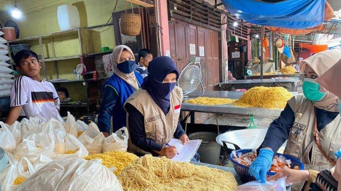 BBPOM Periksa Bahan Makanan Berbuka Puasa dan Takjil ke Pasar Blangpidie, Ini Hasilnya