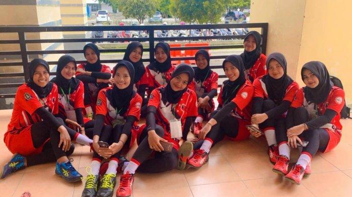Menang Tiga Kali, Tim Bola Voli Putri Simeulue Lolos ke PORA 2022