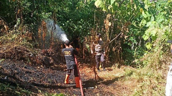 Kebakaran Lahan Kembali Terjadi di Kampung Hilir, Tapaktuan
