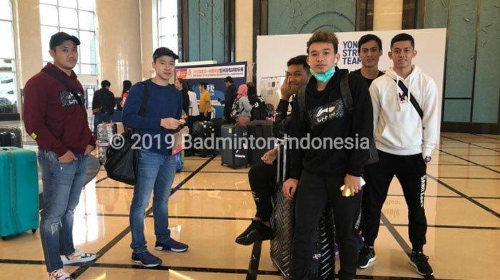 Badminton Asia Championships 2019 - Pasukan Merah Putih Sudah Tiba di Wuhan, China