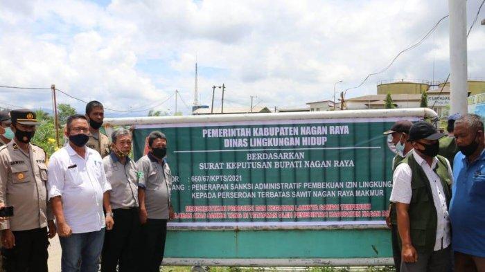 Pencemaran Limbah, Lagi Pemkab Bekukan Izin Lingkungan Pabrik Sawit di Nagan Raya