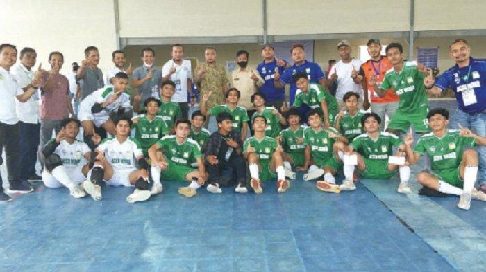 Futsal Aceh Besar Lolos ke PORA
