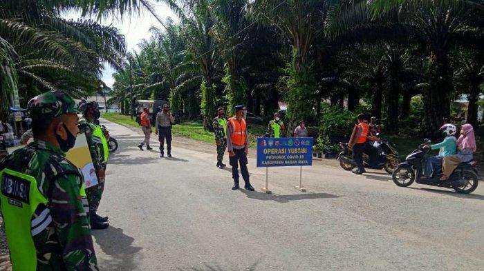 Warga tak Pakai Masker Dapat Sanksi Sapu Jalan di Nagan Raya