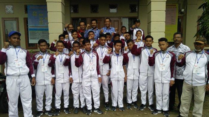 Bireuen Lepas 18 Pemain Sepak Bola ke Gala Siswa Indonesia Tingkat Aceh, Ini Nama Mereka