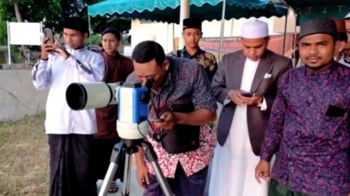 Hilal tak Terlihat di Lhokseumawe, Ramadhan Digenapkan 30 Hari, 1 Syawal 1442 H Dipastikan 13 Mei
