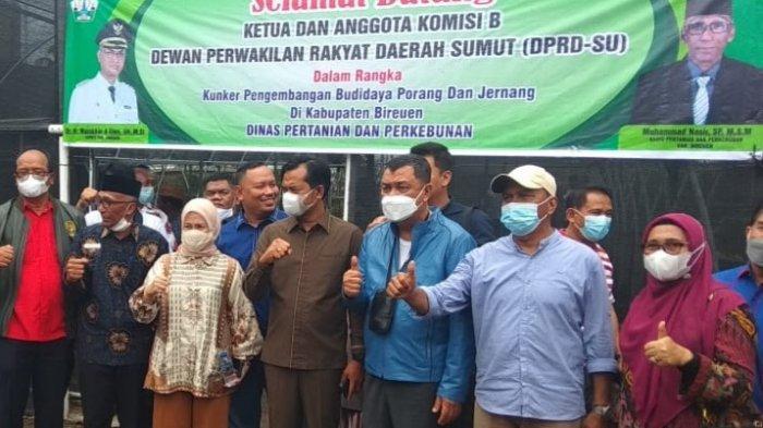 Komisi B DPRD Sumut Kunker ke Lokasi Tanaman Porang dan Jernang Bireuen