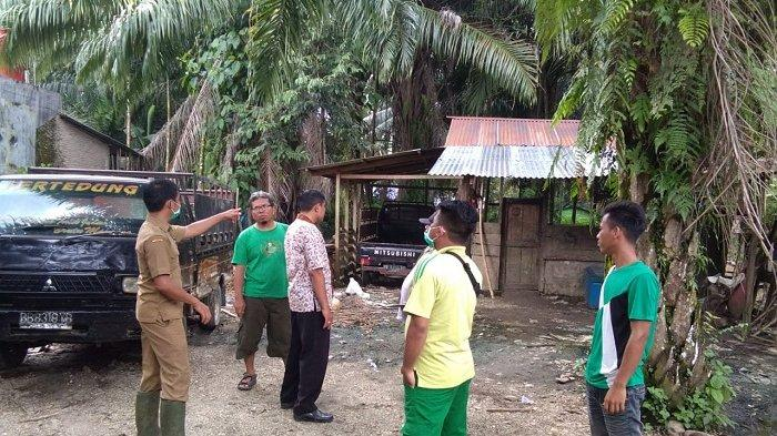 Tim Peternakan Distanbunkan Subulussalam Pantau Ternak Babi Warga, 15 Ekor Dilaporkan Mati
