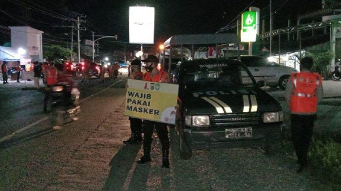 Tim Peucrok Covid-19 di Nagan Raya Lancarkan Razia Masker Malam Hari