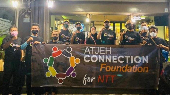 Atjeh Connection Foundation Berangkatkan Tim Misi Kemanusiaan ke NTT