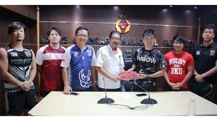 Pelatih Asal JepangPertajam Teknik Tim PON Rugby Aceh