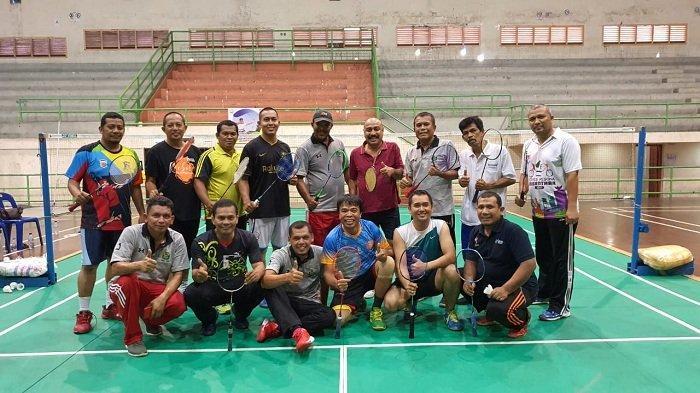 Wabup Pijay Said Mulyadi Jajal Tim Bulutangkis SIWO PWI Aceh, Begini Suasananya