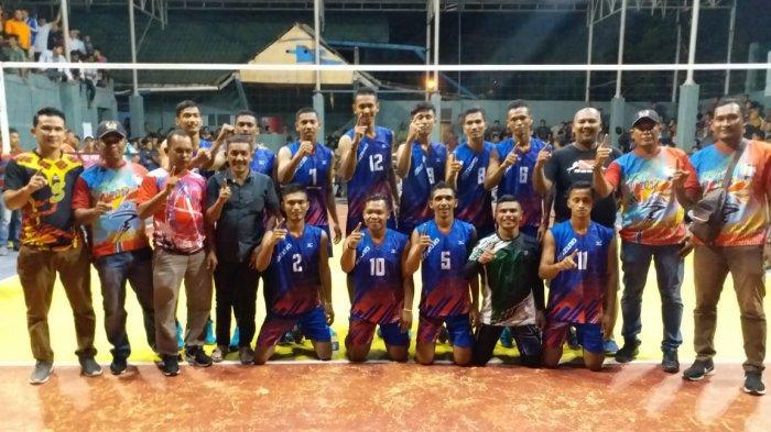 Bantai Tuan Rumah, Tim Bola Voli Aceh Utara ke Final