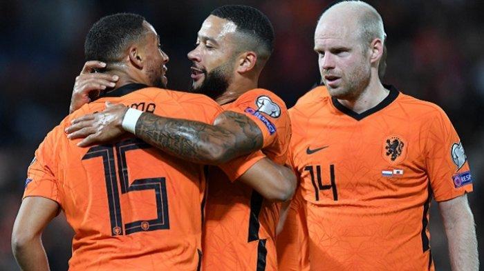 Belanda Bantai Gibraltar 6-0, Masih Harus Tunggu Bulan Depan, Pastikan Lolos ke Piala Dunia 2022