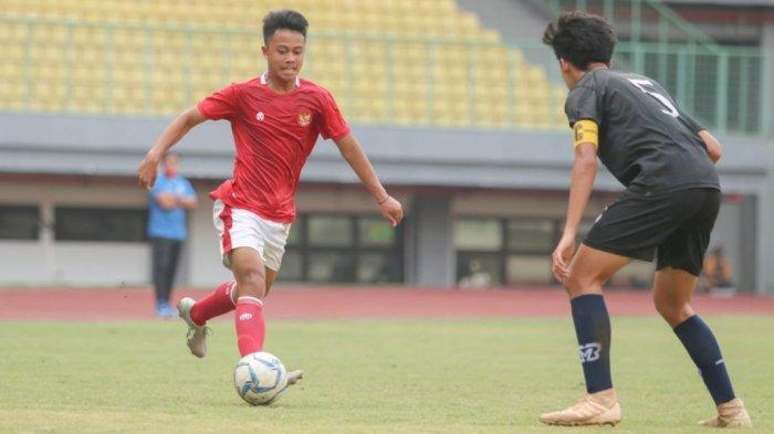 Ditahan Imbang Bina Taruna, Timnas Indonesia U-16 Akhiri Pemusatan Latihan di Bekasi