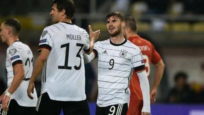 Timnas Jerman Jadi Negara Pertama Lolos ke Piala Dunia Qatar 2022, Cukur Makedonia Utara 4-0
