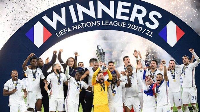 Kylian Mbappe Bawa Timnas Prancis Juara Liga Bangsa-Bangsa, Raih Kemenangan Kontroversial