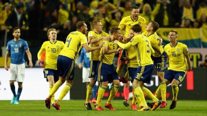 Play Off Piala Dunia 2018 - Gol Tunggal Swedia Bikin Italia Terjepit
