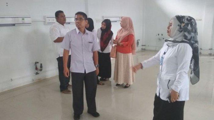 Anggota DPRA Tinjau Pembangunan Ruang Cuci Darah RSUD Nagan Raya