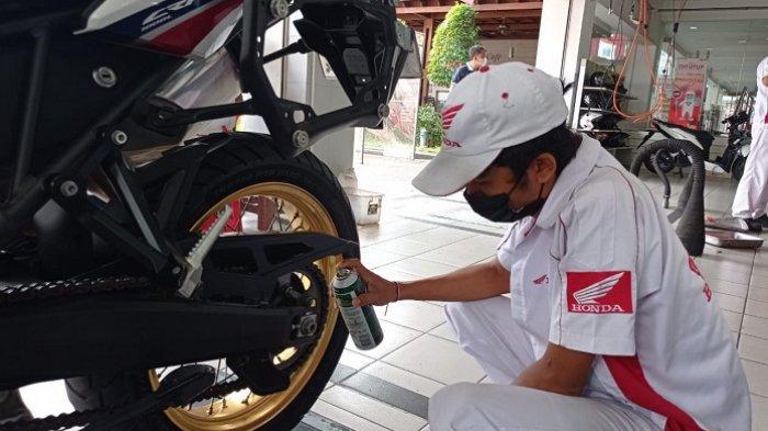 AHM Berbagi Tips Merawat Rantai Roda Sepeda Motor, Pengendara Perlu Pelajari Hal Ini