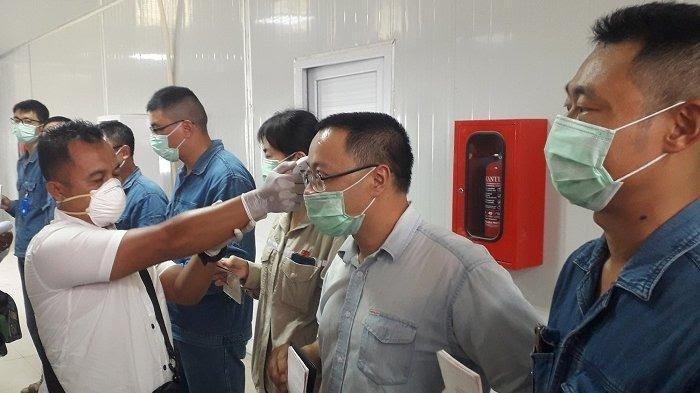 Pantau Tenaga Kerja Asing, Tim Disnakermobduk Aceh dan Disnakertrans Nagan Raya Datangi PLTU 3-4