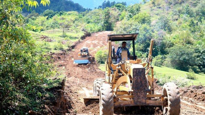 Hari Ke -13 Pra TMMD 110 Kodim 0101/BS, Pembangunan Jalan 10 Km Mencapai 34 Persen
